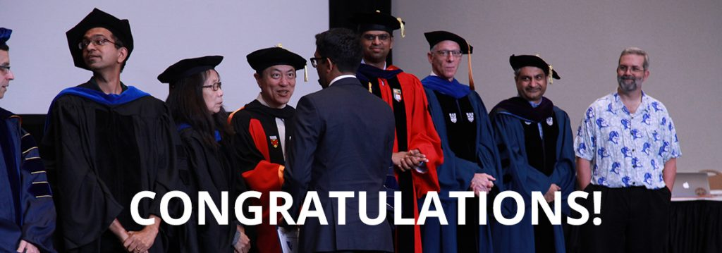 Duke CS Faculty Congratulate Graduate